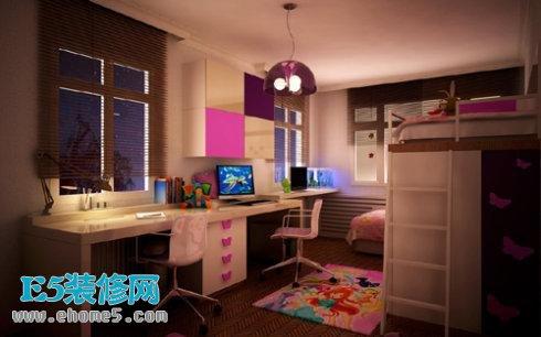 儿童卧室书房设计图_儿童卧室书房设计图分享展示