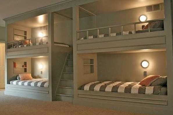 12款双层上下床设计赏析