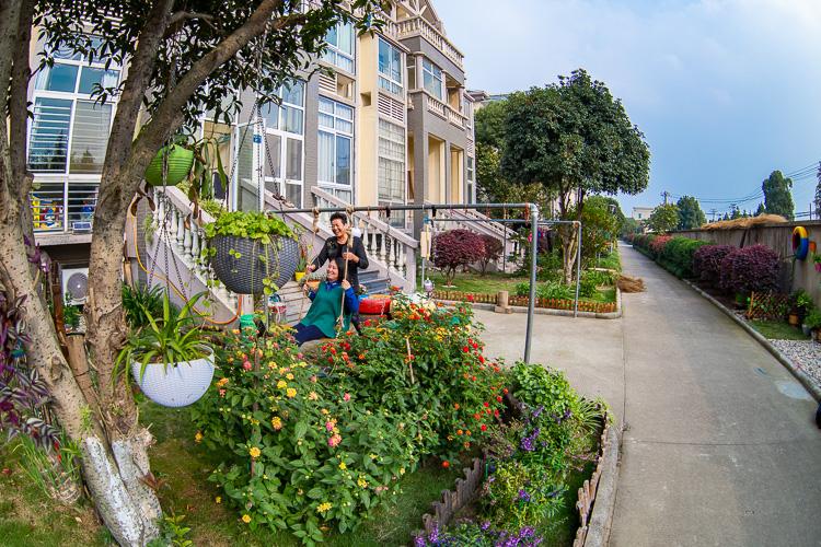 民乐村美丽庭院