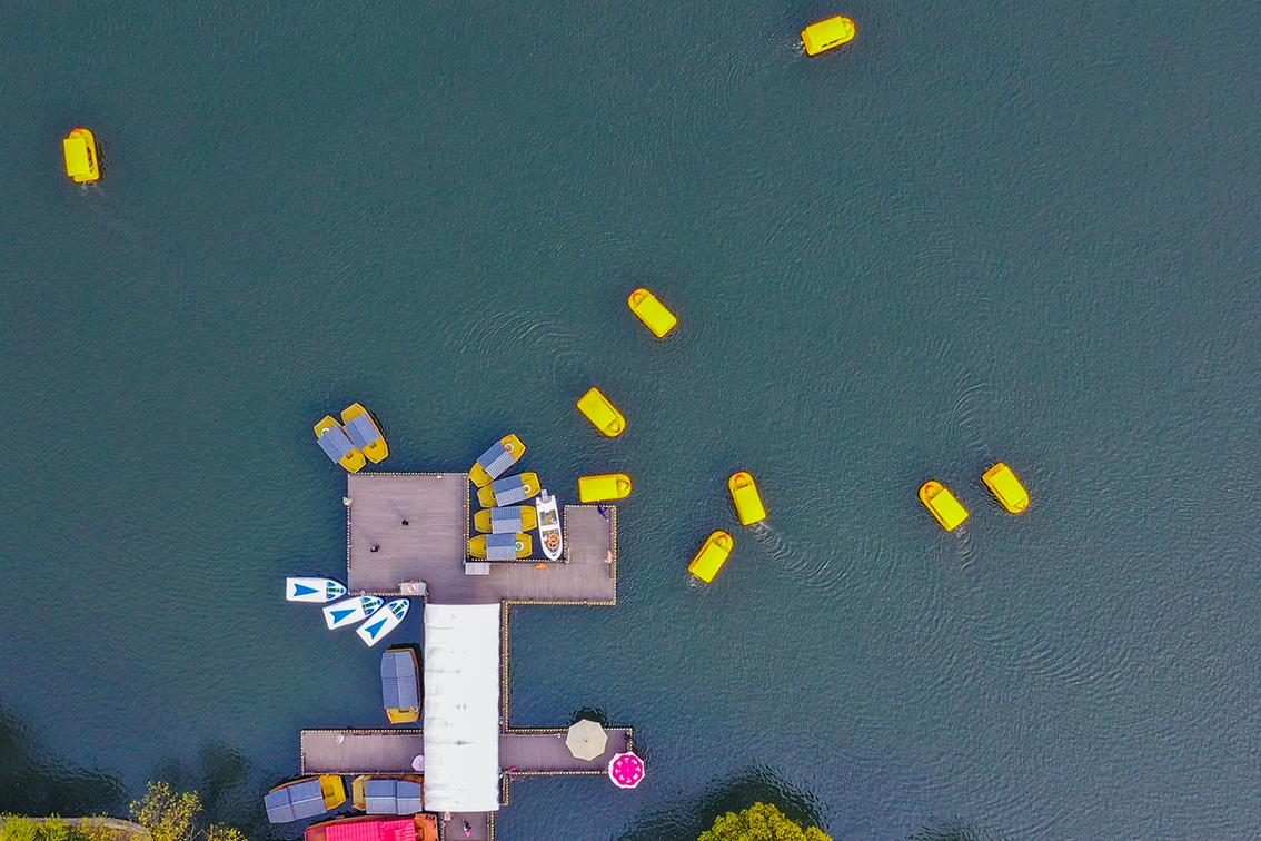 月湖船坞码头