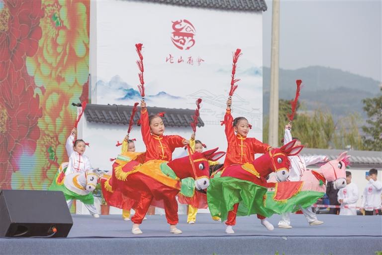 鄞江庙会 热闹开街