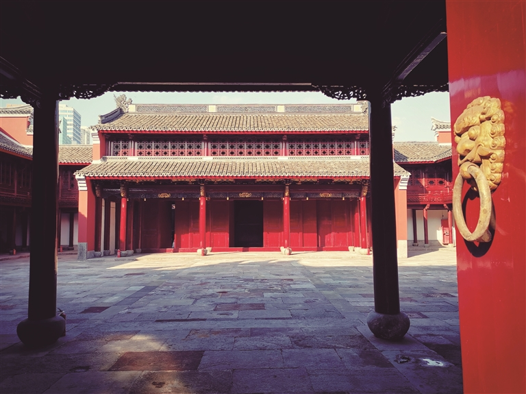 宁波府城隍庙修缮工程竣工验收