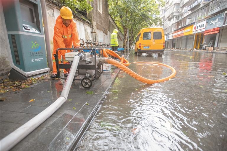 强排水 保畅通